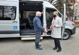 Mercedes do przewozu niepełnosprawnych uczniów w gminie Miastko (ZDJĘCIA)