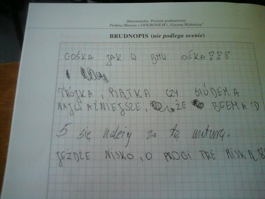 Nauczyciel płakał jak poprawiał: Najlepsze teksty uczniów i...