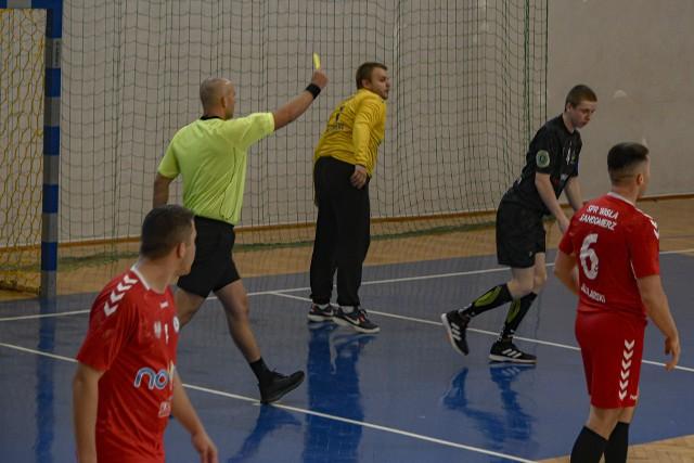 Wisła Sandomierz rozegrała w Przemyślu dobry mecz.