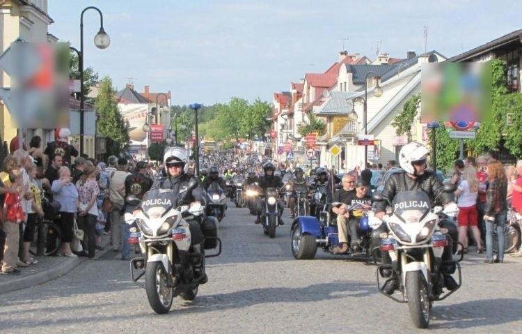 W miniony weekend w Augustowie odbył się zlot motocyklistów....