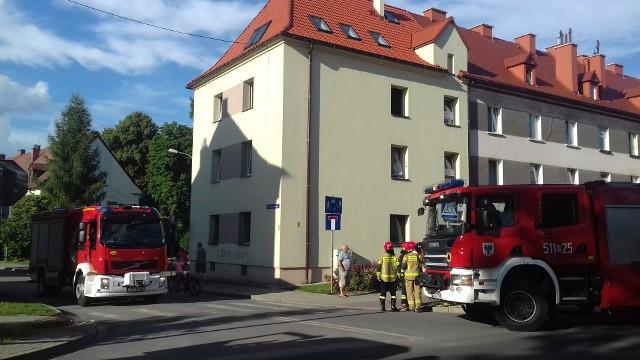 Przypalony kapuśniak w jednym z mieszkań przy ul. Olszewskiego, omal nie spowodował tragedii.