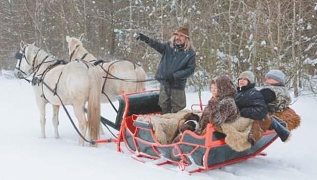 Agroturystyka. Rozpoczął się sezon na kuligi.Nie tylko dzieci cieszą się z powodu śniegu, ale i właściciele gospodarstw agroturystycznych. W końcu rozpoczął się sezon na kuligi.