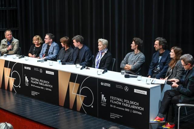 """46 Festiwal Polskich Filmów Fabularnych w Gdyni. Konferencja po projekcji filmu """"Żeby nie było śladów"""""""