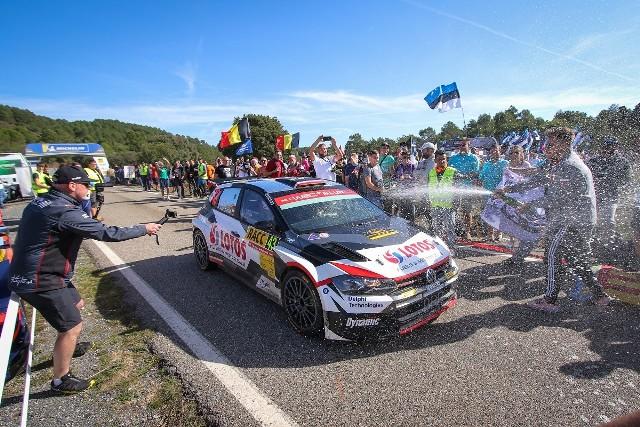 Kajetanowicz i Szczepaniak wicemistrzami Rajdowych Mistrzostw Świata WRC2 2019!