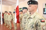 Pożegnanie żołnierzy z Sulechowa, którzy lecą do Afganistanu. Zobacz, jak się odbyła uroczystość