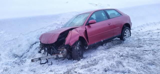 Wypadek na drodze S8 13.02.2021