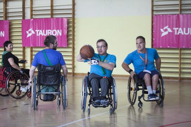 W trakcie zawodów uczestnicy rozegrali m.in. mecz koszykówki