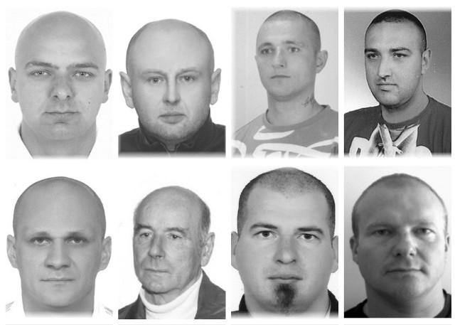 Groźni przestępcy, których ściga podkarpacka policja. Sprawdź, za co są poszukiwani.