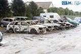 Pięc aut spłonęło w Załomiu. To mogło być podpalenie