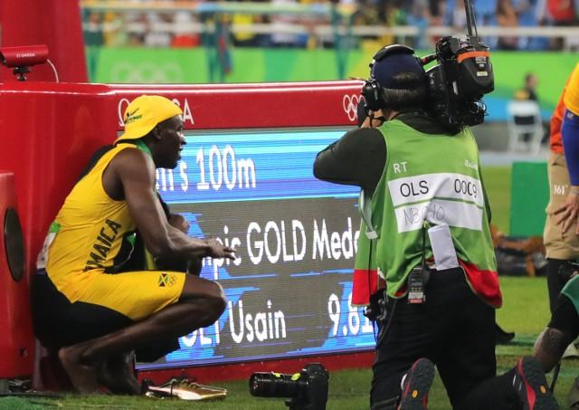Usain Bolt zdobył złoty medal w biegu na 100 m w Rio 2016