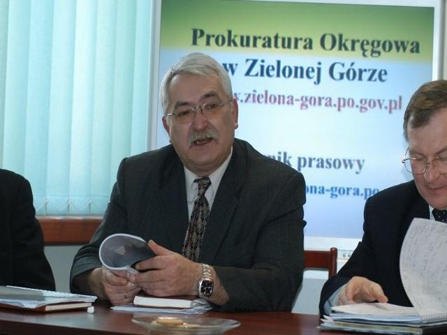 Prokurator Kazimierz Rubaszewski.