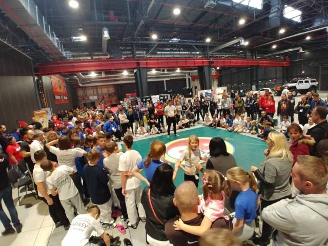 Zawody w koluchstylu cieszyły się bardzo dużym zainteresowaniem na Burneika Sports Festiwal w Warszawie