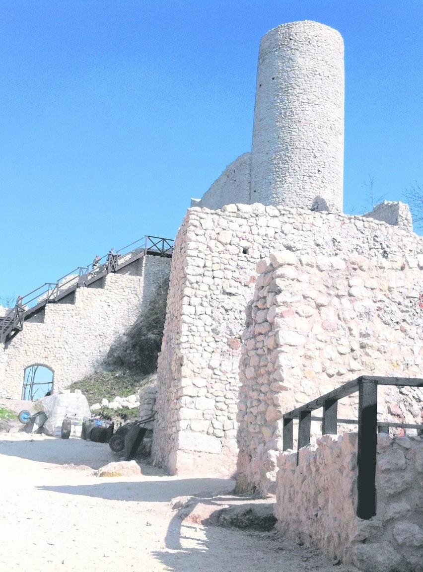Po rewitalizacji turyści mogą m.in. wejść na wieżę widokową