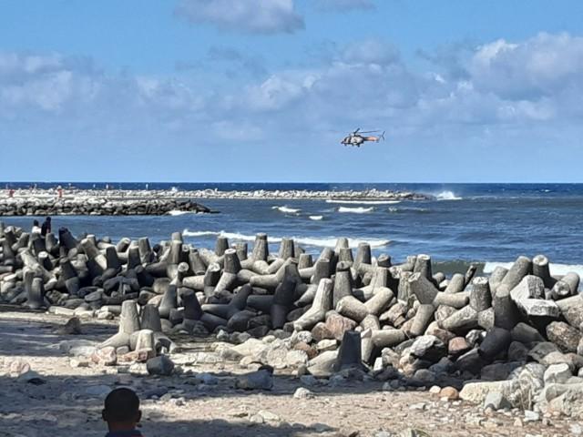 W Jarosławcu morze wyrzuciło ciało mężczyzny