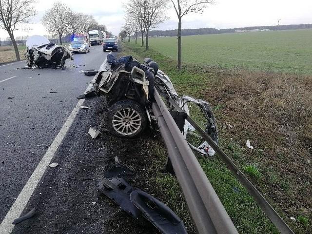 W czwartek doszło do poważnego wypadku na DK11 w powiecie średzkim.