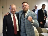 Conor McGregor: Dałem Władimirowi Putinowi pierwszą butelkę mojej whiskey. Sprawdził, czy nie jest zatruta