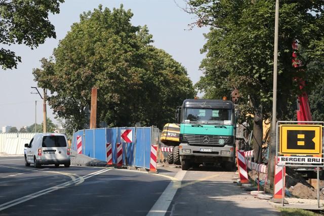 Prace przy budowie kanalizacji w Leśnicy, sparaliżują wjazd do Wrocławia od strony Środy Śląskiej