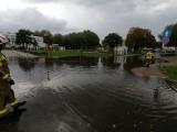 Intensywne opady deszczu w Połczynie-Zdroju. Strażacy mieli wiele pracy [ZDJĘCIA]