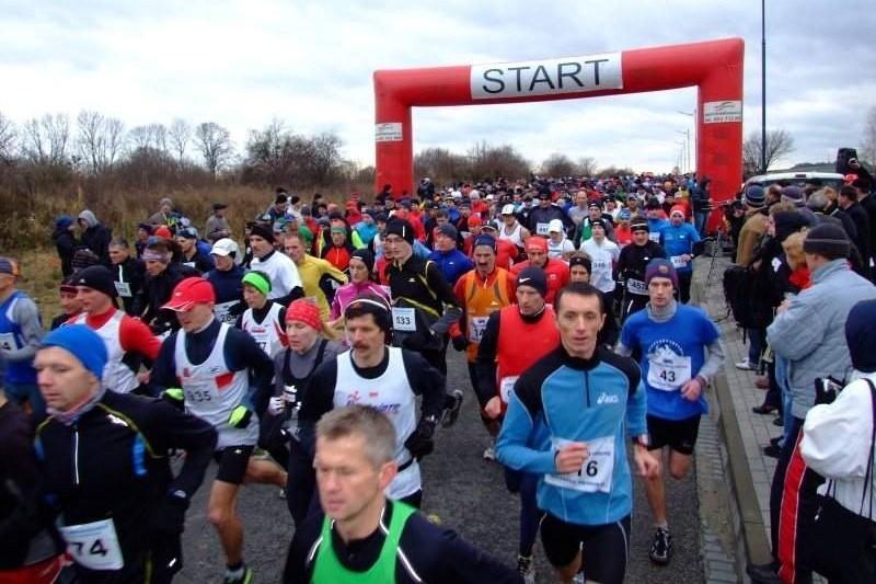 W biegu wystartowała rekordowa liczba uczestników.
