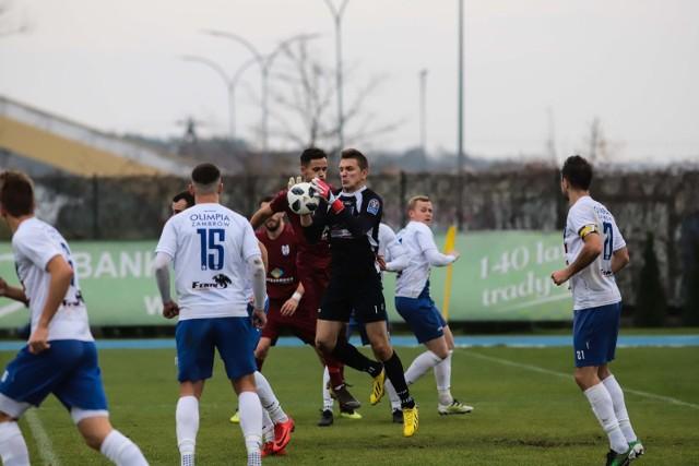 Olimpia Zambrów i Ruch Wysokie Mazowieckie zremisowały zaległe mecze po 0:0