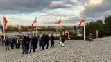 Prezydent Kielc Bogdan Wenta na uroczystościach w Gdańsku