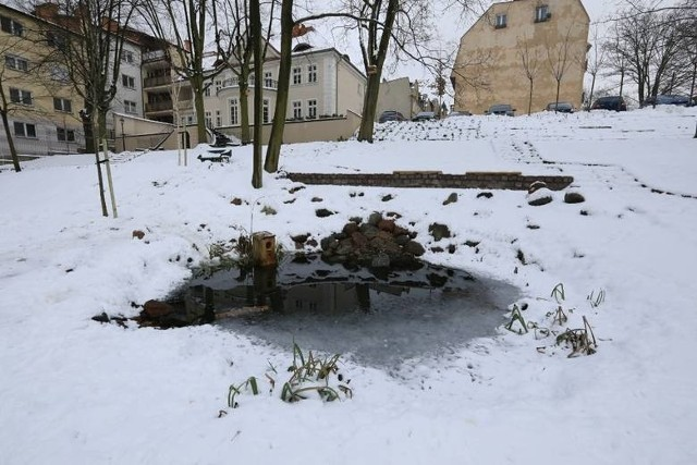 17 stycznia przed godziną 16.00 toruńscy policjanci otrzymali informację, że w stawie znajdującym się obok pałacu Weesego przy ulicy Danielewskiego w Toruniu pływa ciało kobiety. Kiedy dotarli na miejsce okazało się, że kobieta jeszcze żyje.