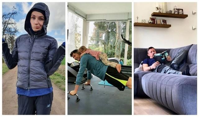 Środowisko sportowców ze zrozumieniem podeszło do apelów przedstawicieli polskich władz, by w najbliższych dniach – z powodu epidemii koronawirusa – pozostać w domu. Sprawdźcie, jak gwiazdy polskiego sportu spędzają ten czas!WAŻNE - DO KOLEJNYCH PIŁKARZY MOŻESZ PRZEJŚĆ ZA POMOCĄ GESTÓW LUB STRZAŁEK!