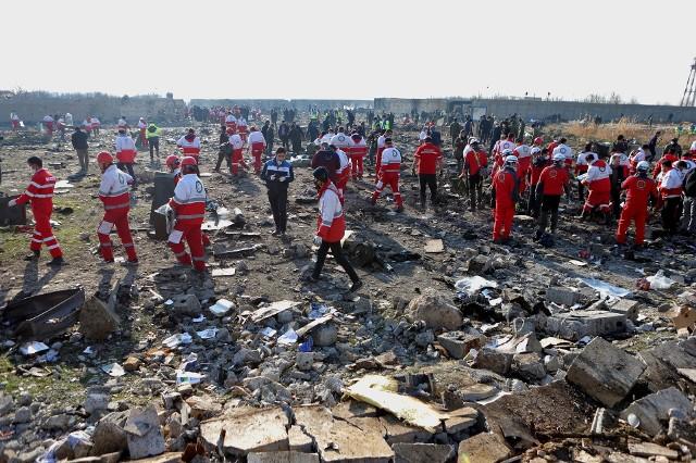 Miejsce zestrzelenia ukraińskiego Boeinga 737, Teheran
