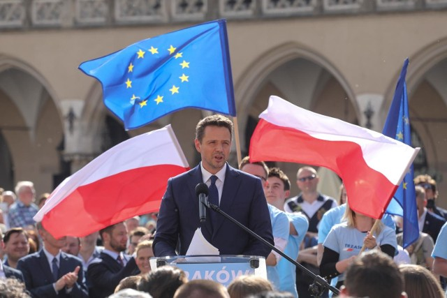 Rafał Trzaskowski w Krakowie
