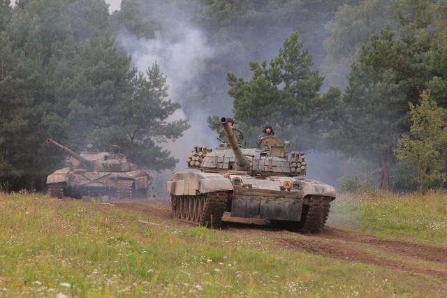 Na poligonie w Biedrusku regularnie odbywają się ćwiczenia wojskowe. To było głównym powodem odmowy przez starostę zmiany klasyfikacji gruntów.
