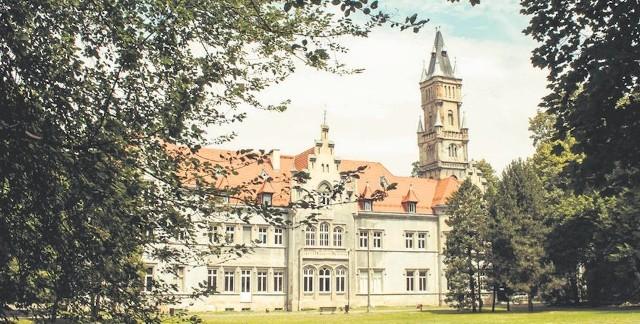 Centrum Kultury Śląskiej mieści się w dawnym pałacu Donnersmarcków