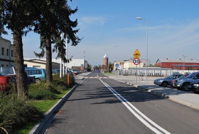Ulicę Wodociągową wyremontowano w ramach schetynówek w 2014 r.