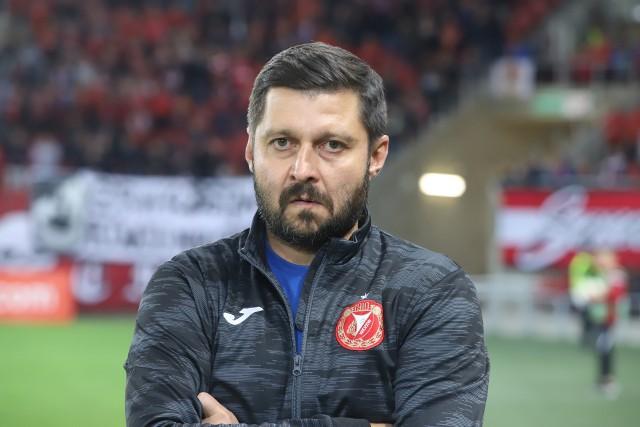 Marcin Kaczamrek, trener Widzewa