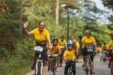 Setki ludzi wzięło udział w rodzinnym rajdzie rowerowym w Bukownie