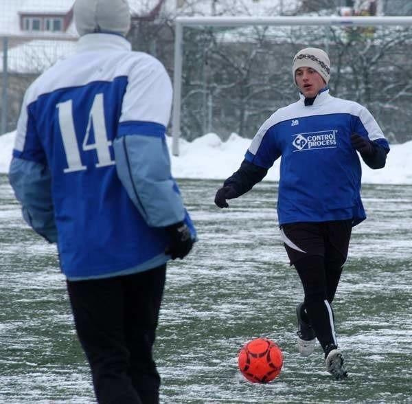 Piłkarze Karpat rozegrali kolejny mecz kontrolny.