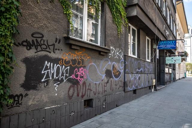 Pseudograffiti szpeci Kraków