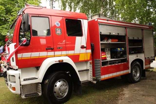 Strażacy z OSP Nowodworce mają nowy wóz strażacki