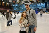 Lodowisko w Białymstoku. Walentynki świętowali na łyżwach