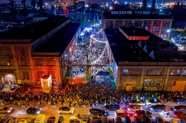 Tłumy na otwarciu Ulicy Elektryków w Gdańsku