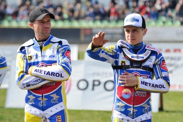 Michał Szczepaniak (z lewej) i Hubert Łęgowik.