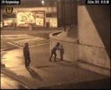Grafficiarze uchwyceni przez monitoring we Wrzeszczu [WIDEO]