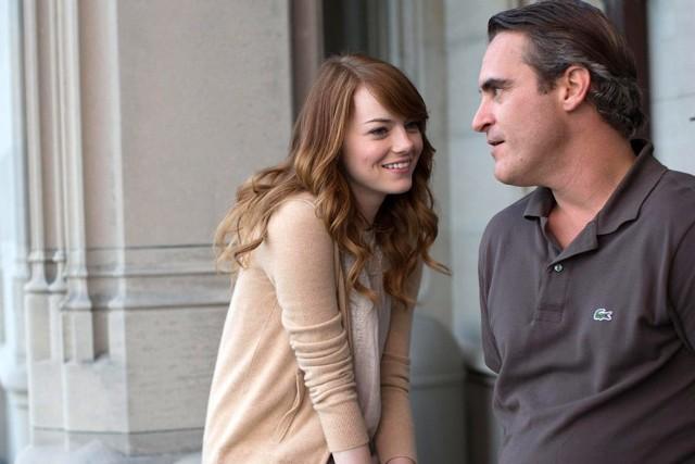 Emma Stone czaruje, Joaquin Phoenix ma wiele twarzy.