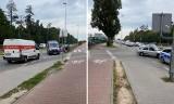 Śmiertelny wypadek na ulicy Mieszka I w Szczecinie. Policja blokuje przejazd