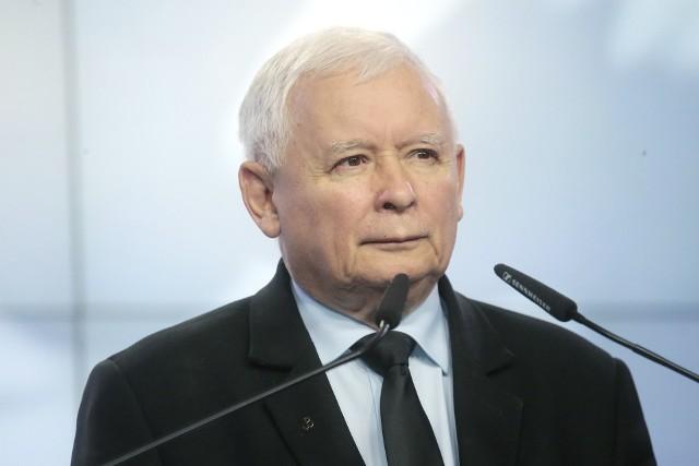 Jarosław Kaczyński, prezes PiS, wicepremier