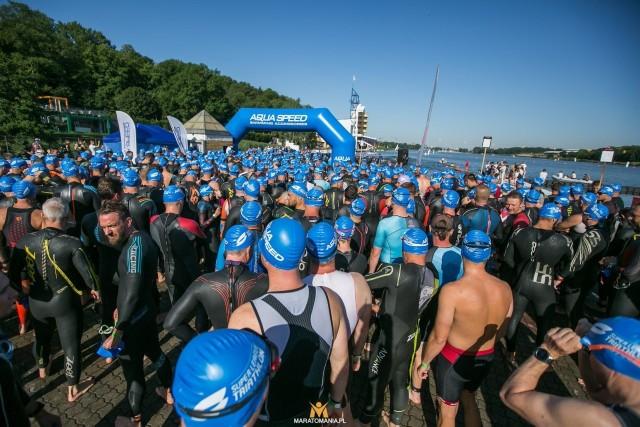 Poznańska Malta już tęskni za uczestnikami tradycyjnego triathlonu.