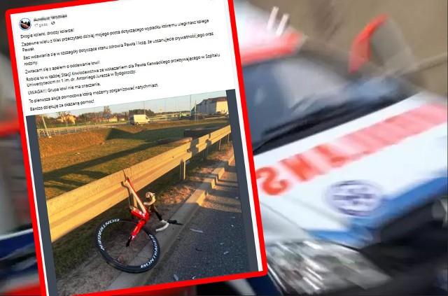 Do wypadku z udziałem rowerzysty doszło we wtorek, 20.03. w Białych Błotach kierowca daewoo zjechał na przeciwległy pas ruchu i zderzył się z rowerzystą. Mężczyzna doznał poważnych obrażeń.