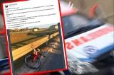 Wypadek rowerzysty w Białych Błotach. Przyjaciele apelują o oddawanie krwi dla mężczyzny, który doznał poważnych obrażeń