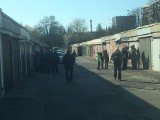 Mieszkańcy Bocianka w Kielcach protestują przeciwko wyburzeniu prawie 200 garaży. Teren może być potrzebny pod rozbudowę drogi S74