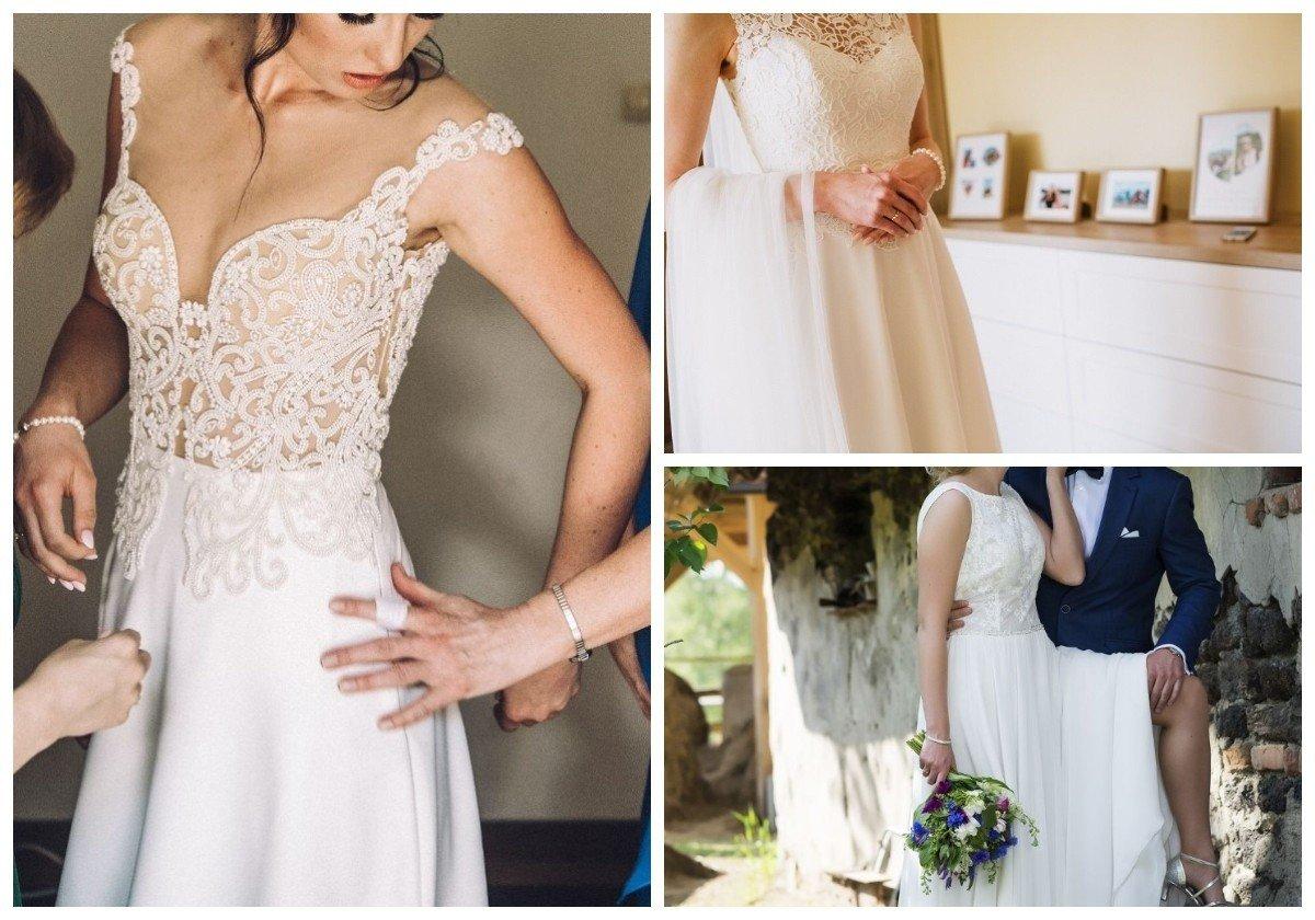 6c6c2fdb10 Przygotowaliśmy 14 ofert sukni ślubnych na sprzedaż z portalu gratka.pl.  Przedział cenowy obejmuje