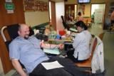 W Gołczy mieszkańcy oddali honorowo osiem litrów krwi